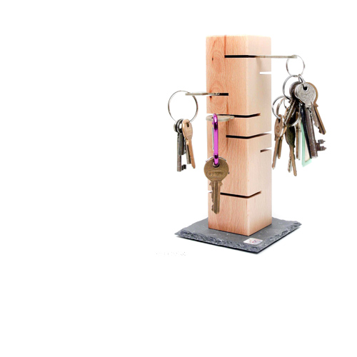 Schlüsselturm natur mit Schlüssel