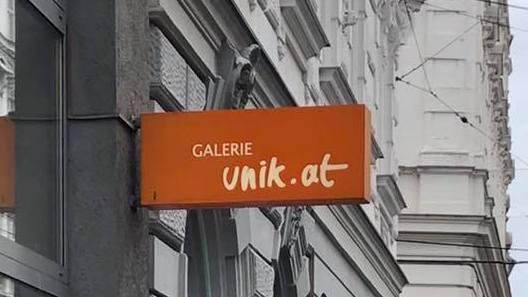 Geschäftsschild Unikat.at